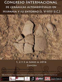 Publicación del Congreso Internacional de Cerámicas Altomedievales en Hispania y su entorno
