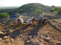 Excavación en Cabezo Pardo