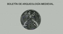 Portada del Boletín de Arqueología Medieval